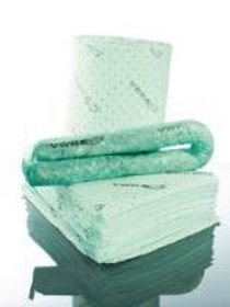 Absorbents - mats, rolls and socks for chemical-based spills
