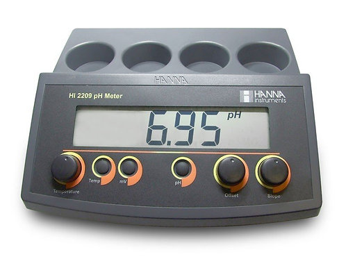 HI-2209 pH/mV Bench Meter with Manual Calibration