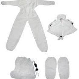 Cleanroom garment sets