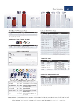 Wheaton - Glass and Plastic Vials