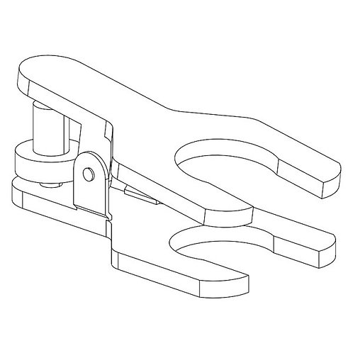 Ball joint clamp 15/28