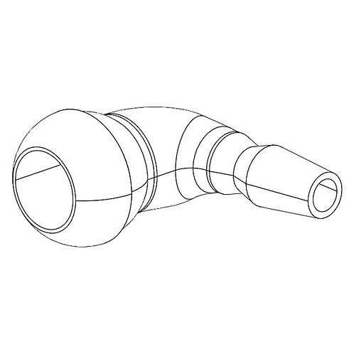 Connector for exhaust hood