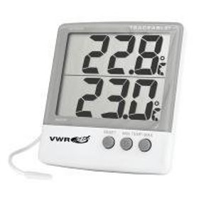 Big digit memory thermometers, Traceable
