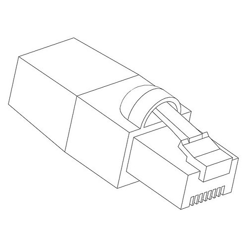 Connecting cable RJ45 5.0m