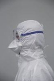 Cleanroom face masks, duck bill, VWR