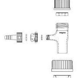 45 mm Cap, Pbt, 39.5mm Opening, 1 Case