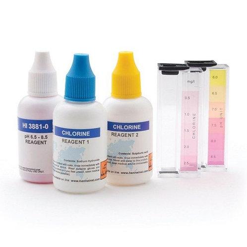 HI-3887 Free Chlorine and pH Test Kit