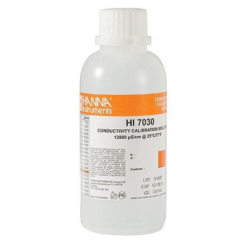 HI-7030M 12 880�S/cm Conductivity Solution, 230mL bottle