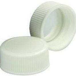 24-400 CAP PP WHT FOIL LNR, 1 Case