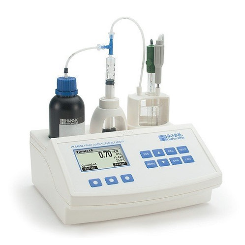 HI-84532-02 Titratable Acidity Mini Titrator and pH Meter for Fruit Juice