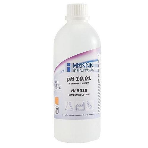 HI-5010 pH 10.01 Technical Buffer Solution (�0.01 pH), 500ml