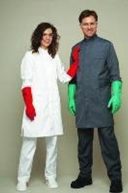 Chemical resistant coats, polyester/Hydro-Tec, reusable