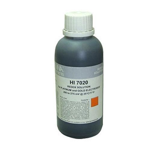 HI-7020M ORP test solution, 200/275 mV, 230 mL bottle