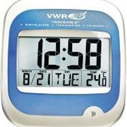 Clock with calendar and thermometer, Traceable®