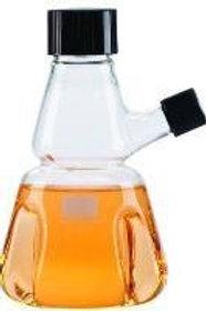 150 mL Flask, Tryps, Rub Lnr, Pour, Grad, 1 Case