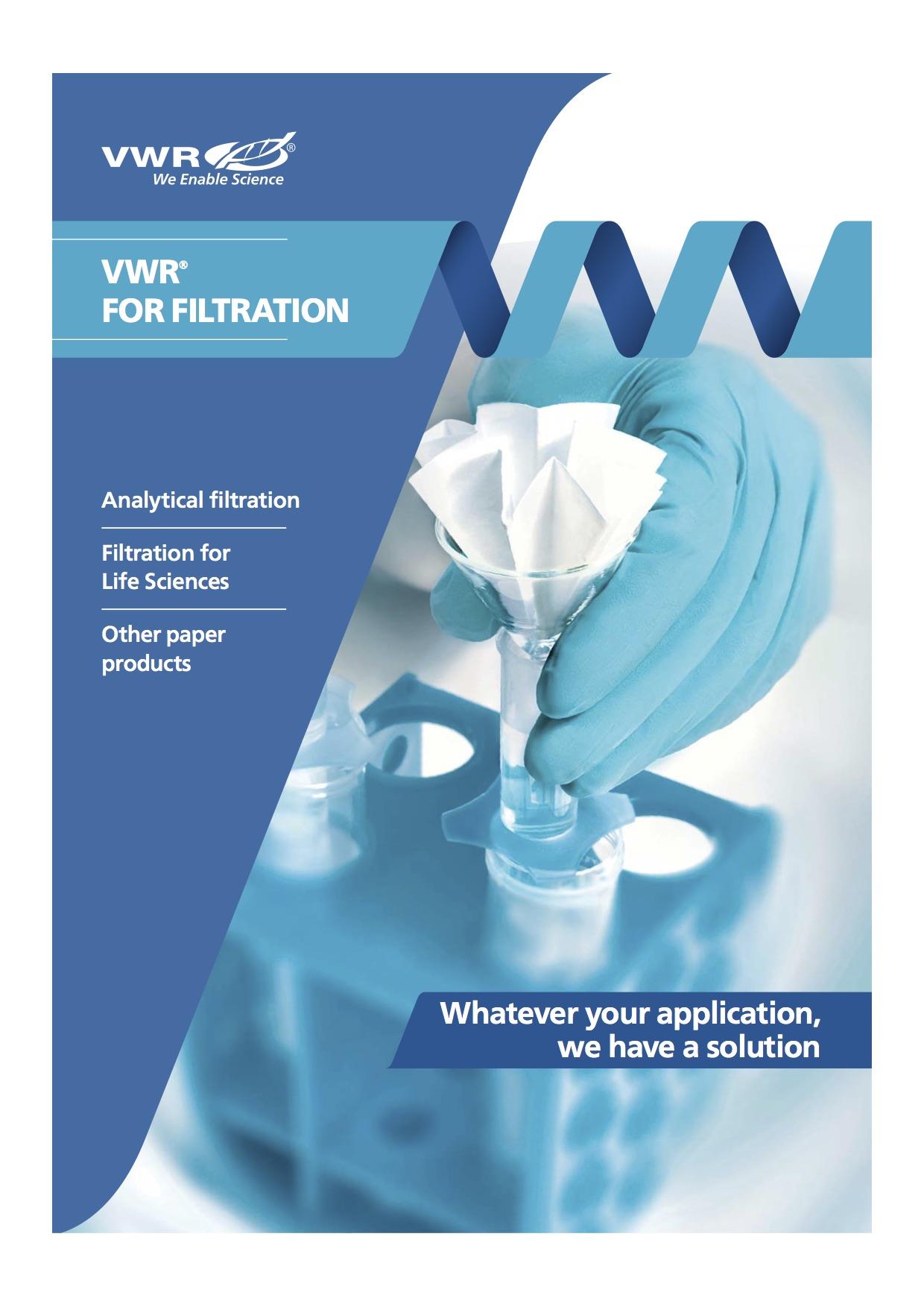 VWR International - Filtration