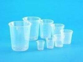 Beakers, disposable