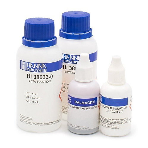 HI-38033-100 Hardness, total, EDTA method, Reagent kit for 100 test