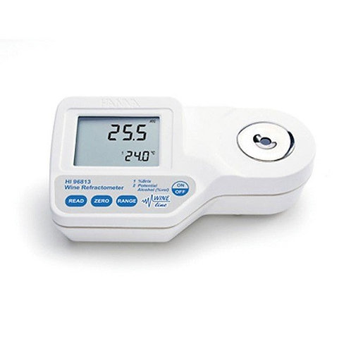 HI-96813 Refractometer for wine with Potential Alcohol & Brix scale