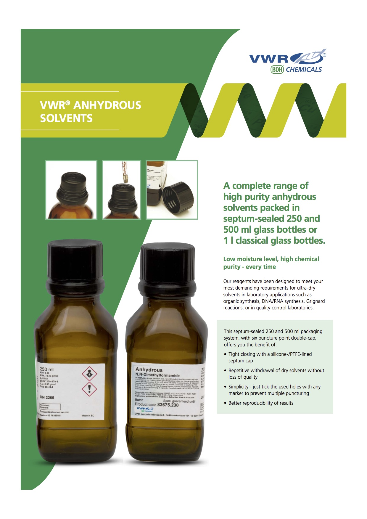 Anhydrous Solvents