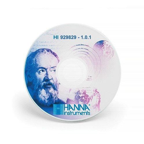HI-929829 Windows (R) application software for HI-9829