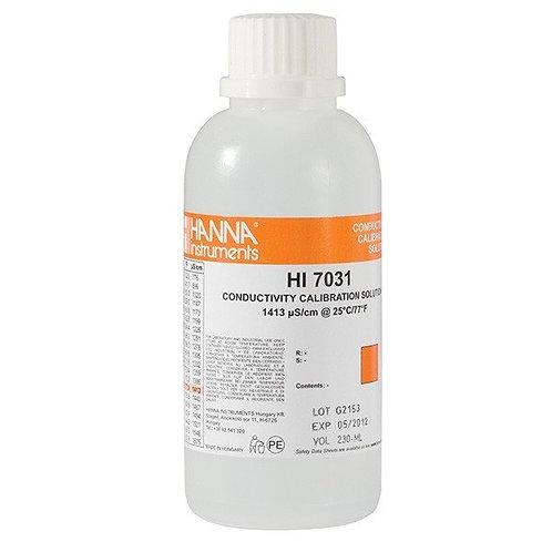 HI-7031M 1 413�S/cm Conductivity Solution, 230mL bottle