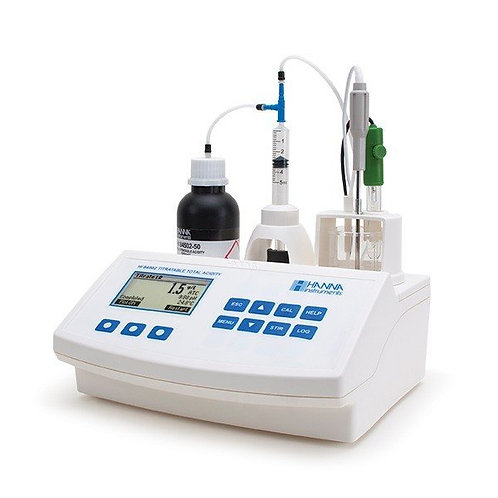 HI-84502-02 Titratable Acidity Mini Titrator for Wine Analysis