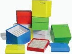 Cryoboxes, cardboard, 136x136 mm