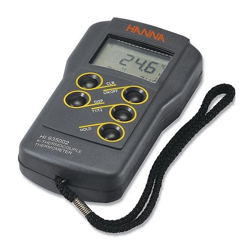 HI-935002 2-Channel K-Type Thermocouple Thermometer