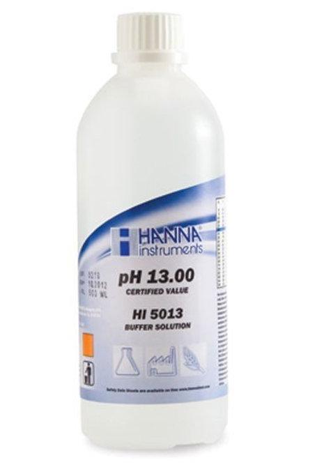 HI-5013 13.00 pH Technical Buffer Solution (�0.01 pH), 500ml