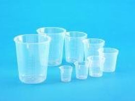 Beakers, disposable