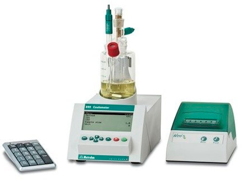 Coulometer:cell wo.diaphr.with printer