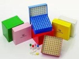 CRYOFILE XL FREEZER BOX WHITE, 1 Case
