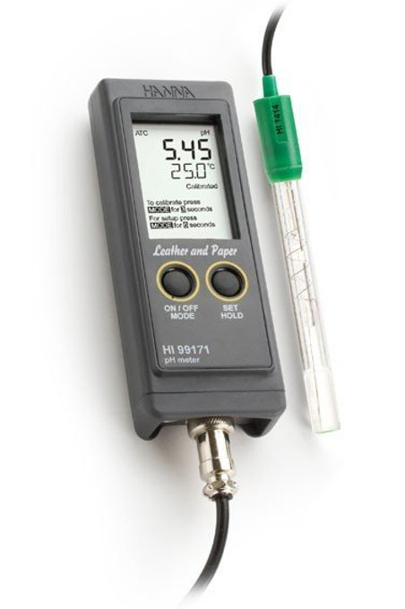 HI-99171 Leather and Paper pH Meter