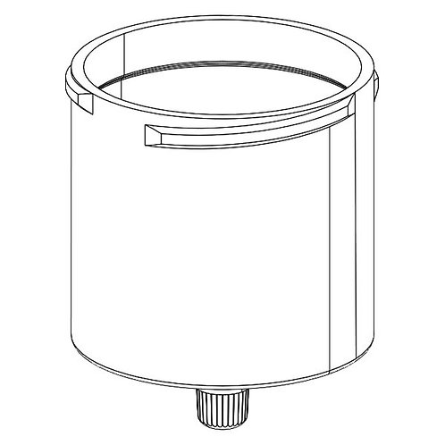 Cylinder waste SPE