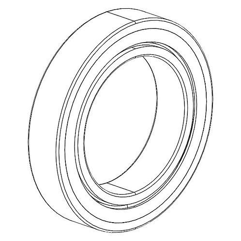 Ball bearing 40x62x12x6908A 2Z
