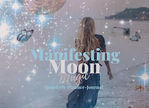 Manifesting Moon Magic Quarterly Planner/Journal