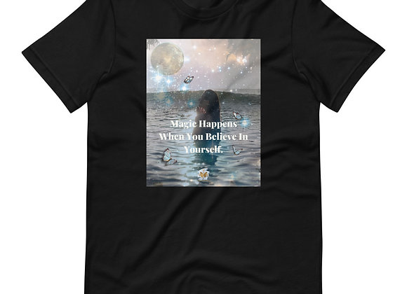 Magic Happens.....   Short-Sleeve Unisex T-Shirt