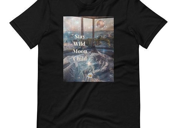Stay Wild Moon Child Short-Sleeve Unisex T-Shirt