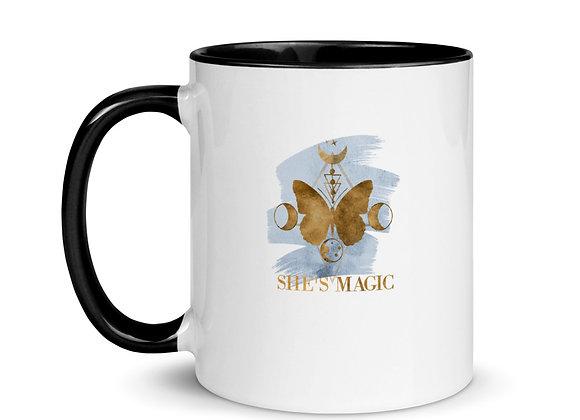 She's Magic  Mug with Color Inside