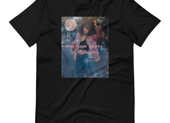 Moon Secrets    Short-Sleeve Unisex T-Shirt