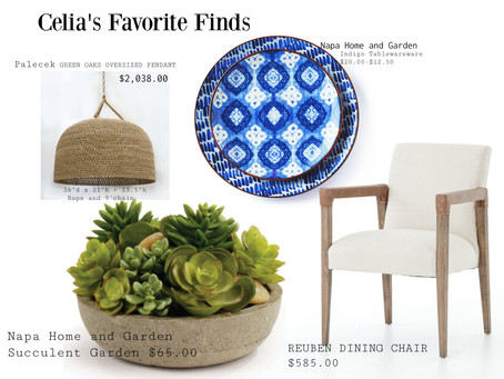 Celia's Favorite Finds
