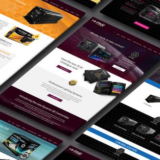 HI-PAR Website Design