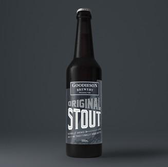 Goodieson Brewery Label Design