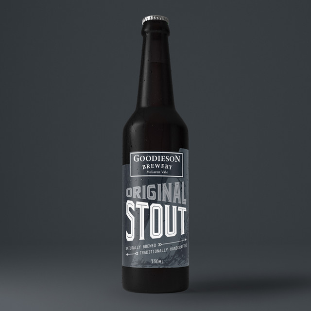 Goodieson Brewery Label Design