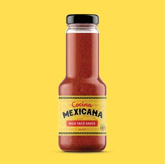 Cocina Mexicana Label Design