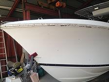Cosmetic hull damage