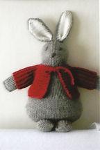 Knitted Rabbit, Seaside Knitting Bags