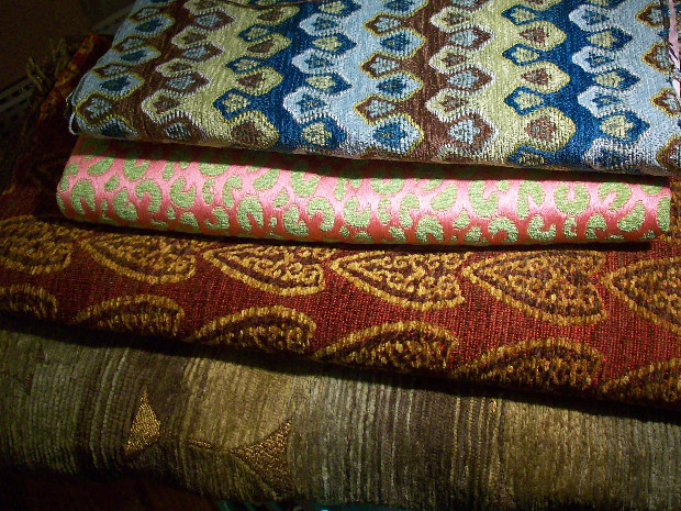 new fabrics, tapestry, oneofakind