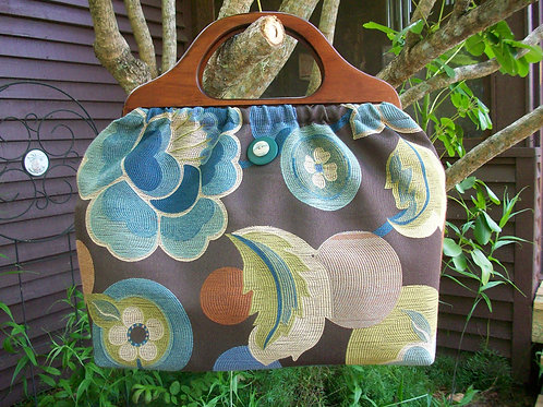 Zen Garden Classic Knitting Bag